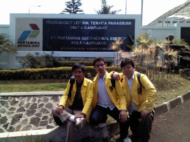 Kerja Praktek di Pertamina Geothermal Energy